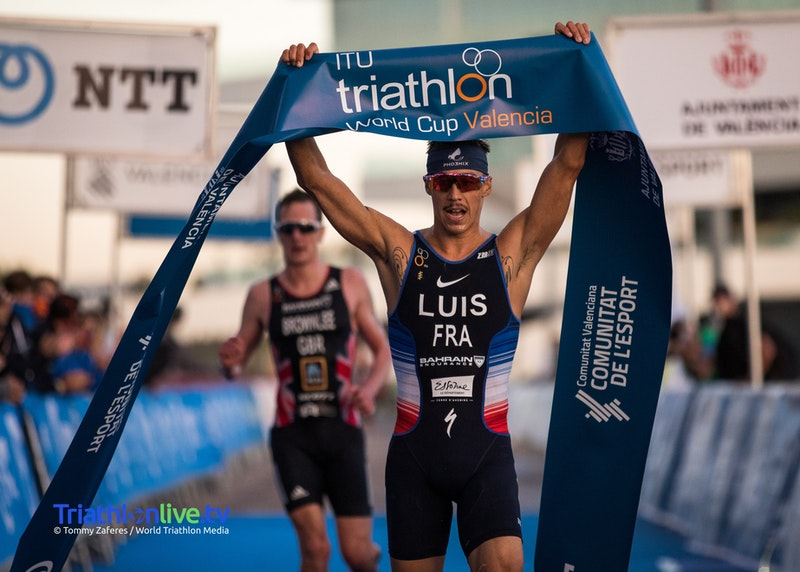 ITU World Cup Valencia 2020: ancora un successo, il 4° di fila, per il francese Vincent Luis (Foto: © World Triathlon Media / Tommy Zaferes)