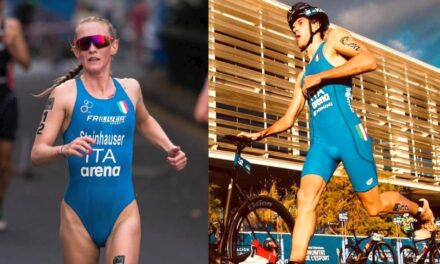 Verena e Pozz i primi italiani del World Triathlon Rankings 2020