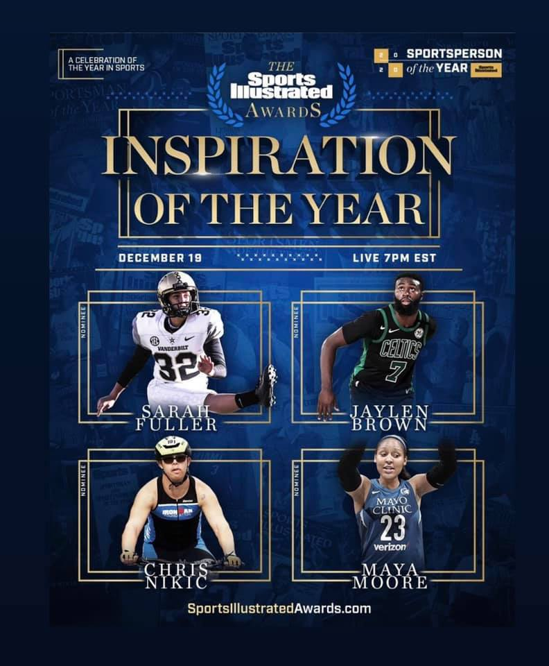 Chris Nikic Sports Illustrated Inspiration of the Year