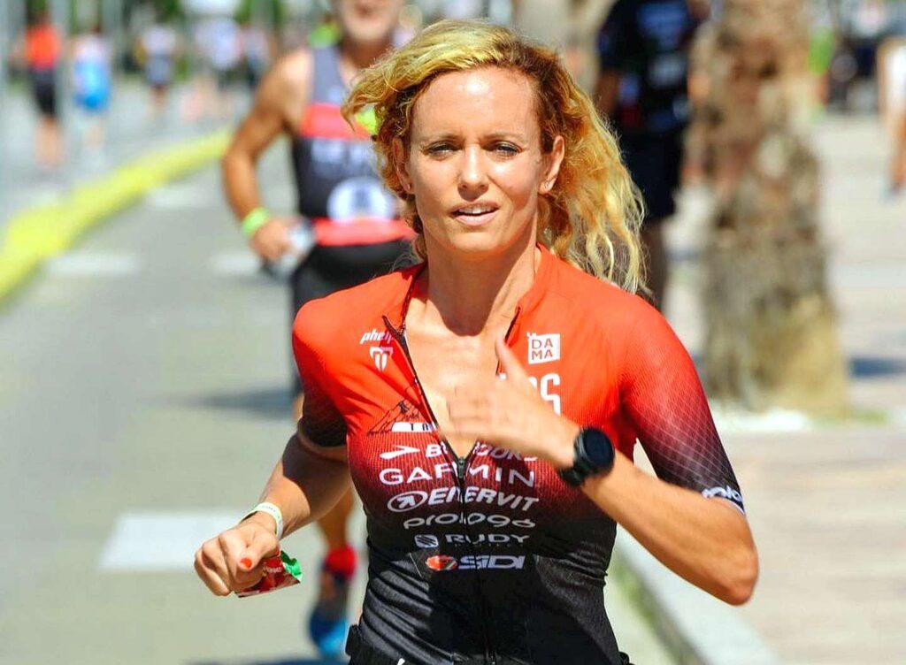 Justine Mattera è la madrina del Civitanova Triathlon