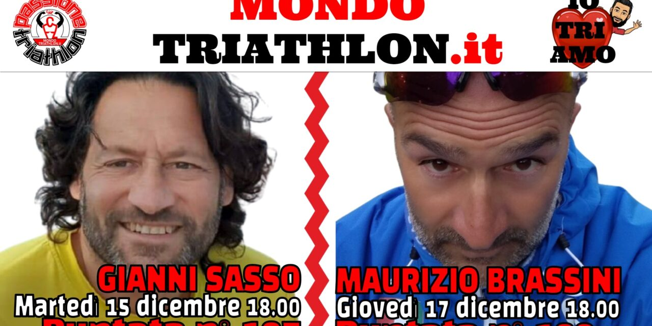 Passione Triathlon Protagonisti 15 e 17 dicembre 2020