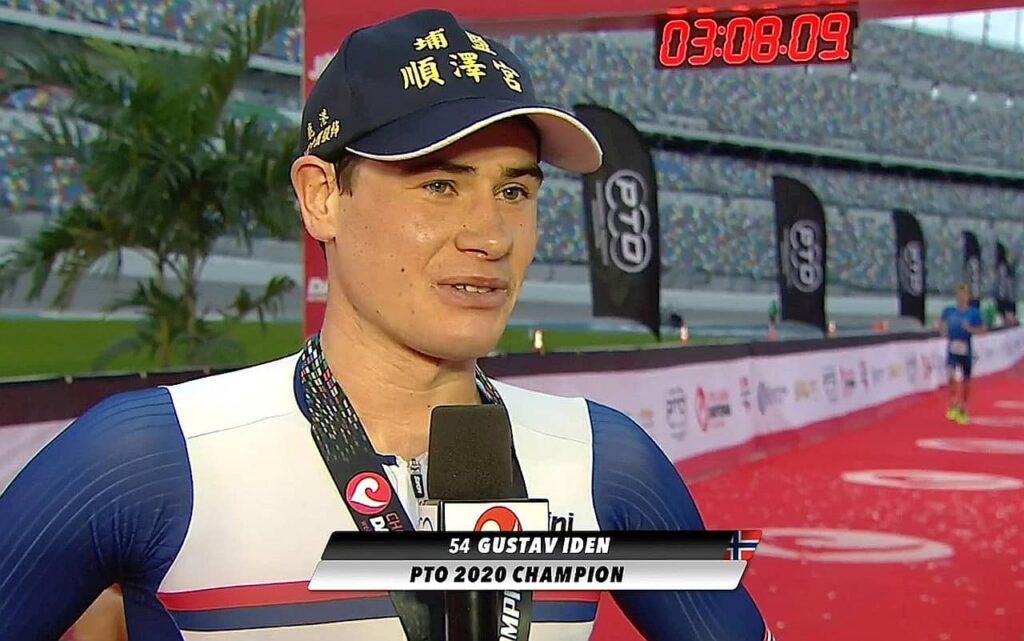 Il norvegese Gustav Iden intervistato al termine della sua gara vittoriosa al PTO 2020 Championship Challenge Daytona