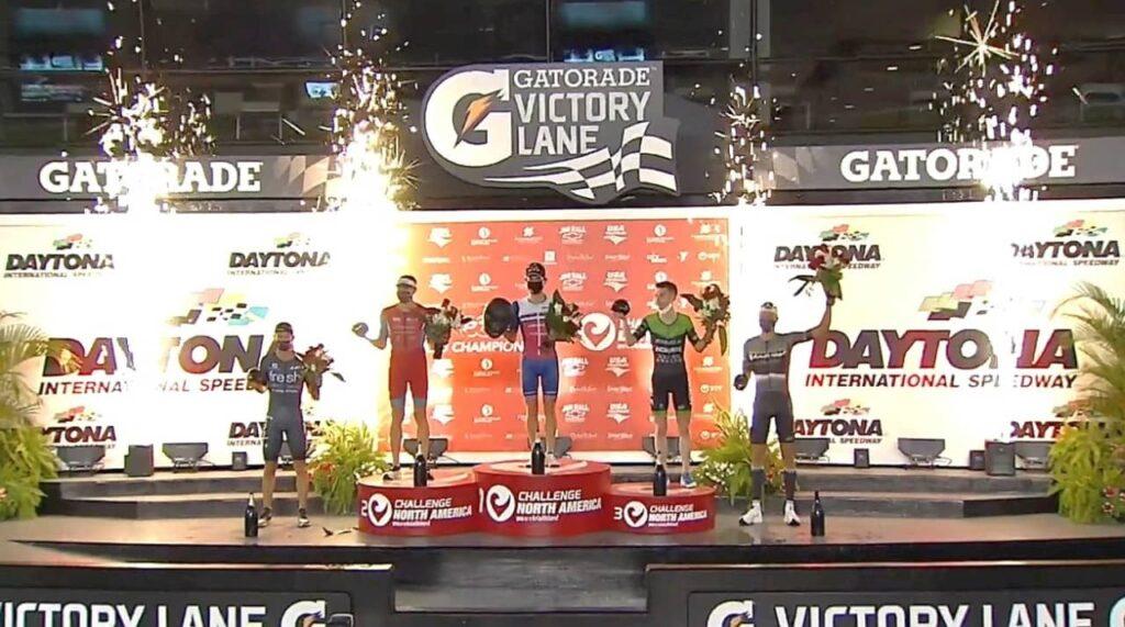I primi 5 classificati del PTO Championship 2020 Challenge Daytona: Iden, Hanson, Goodwin, Sanders, Von Berg