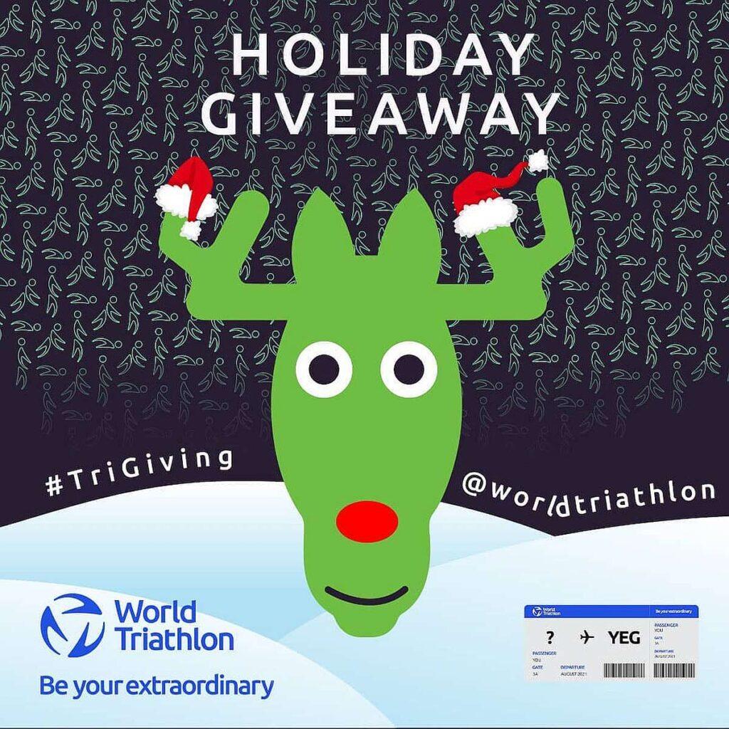 Per Natale World Triathlon ti regala le Grand Final Edmonton 2021!