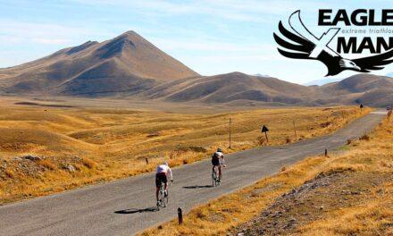 """Sul Gran Sasso vola il nuovo triathlon extreme """"eagleXman""""!"""