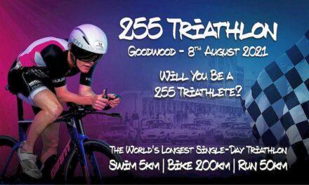 È nato il triathlon più lungo del mondo, il 255 Triathlon!