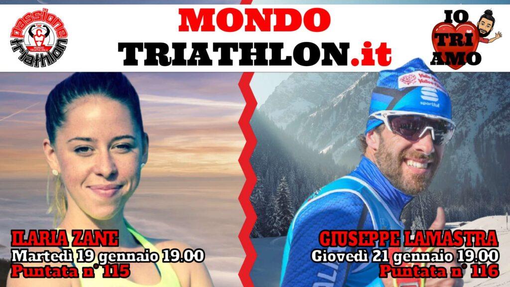 Copertina Passione Triathlon 19 e 21 gennaio 2021 - Ilaria Zane e Giuseppe Lamastra