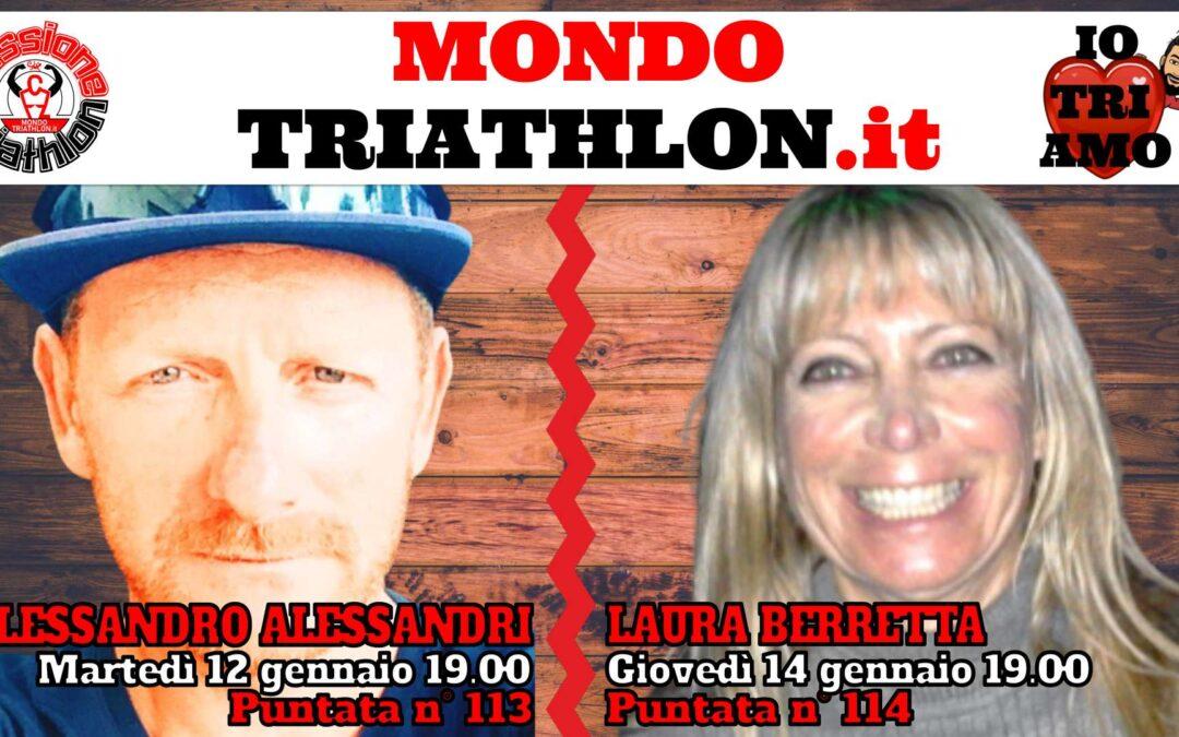 Passione Triathlon Protagonisti 12 e 14 gennaio 2021