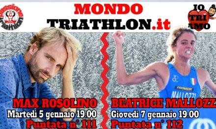 Passione Triathlon Protagonisti 5 e 7 gennaio 2021