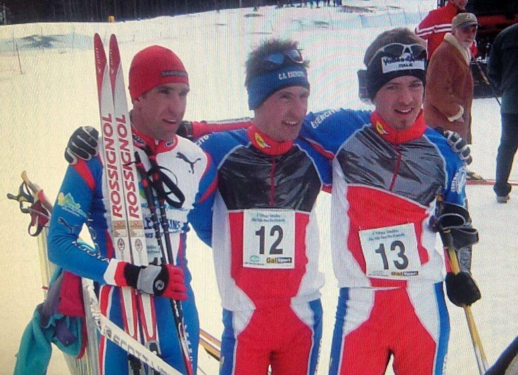 Flassin 2005: da sinistra, Nicolas Lebrun, Daniel Antonioli e Giuseppe Lamastra