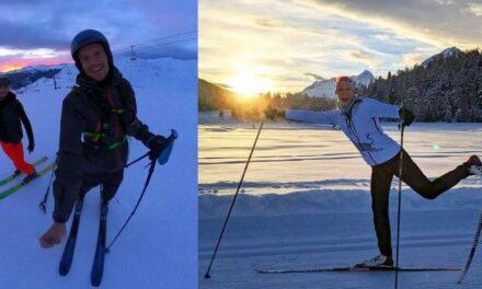Dalla neve, gli auguri di buon anno di Jan Frodeno e Daniela Ryf
