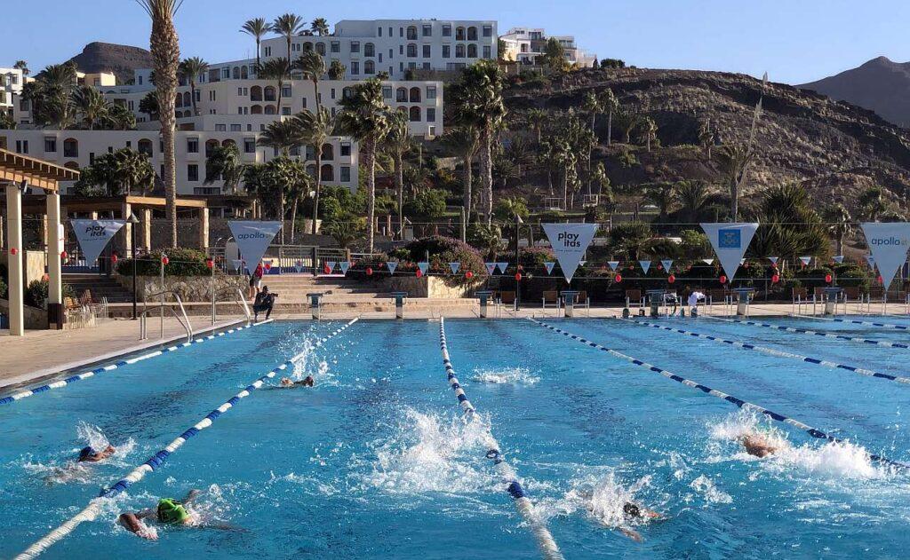 La nazionale italiana di triathlon in allenamento a Fuerteventura (Foto: FITri.it)