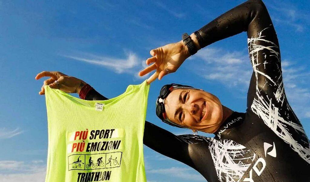 """Sara Rubatto Presidente """"Più Sport Più Emozioni - Triathlon Solidale"""""""