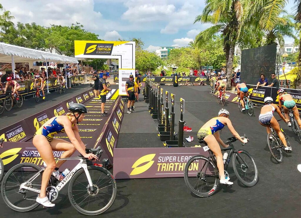 Super League Triathlon frazione bike