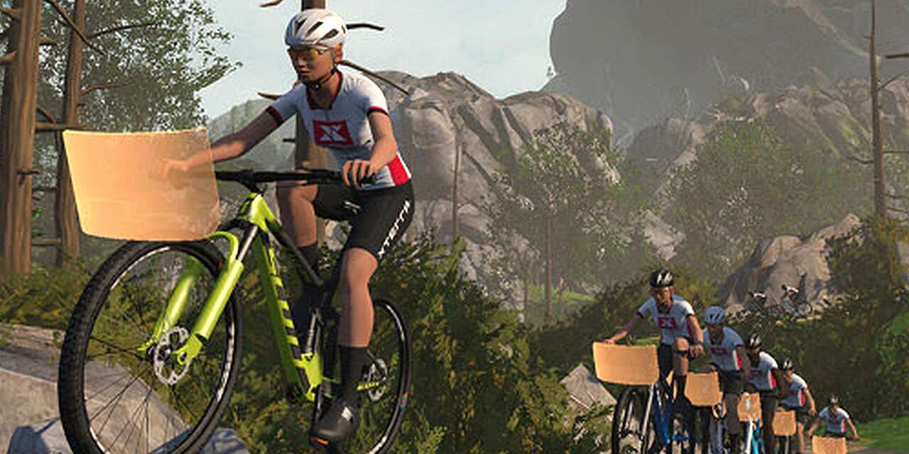 XTERRA crea con Zwift un circuito virtuale off road
