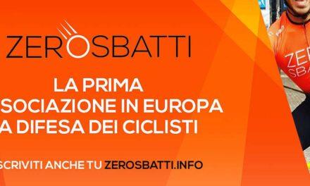 """Guarda la diretta con """"Zerosbatti"""" per la nostra tutela in bici"""