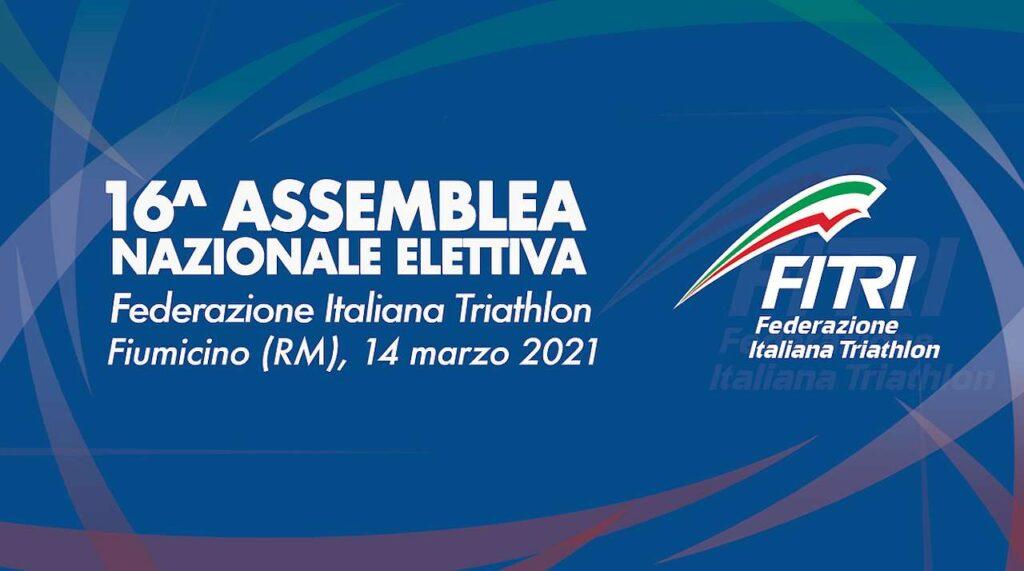 16^ Assemblea Nazionale Elettiva FITri, Fiumicino, 14 marzo 2021