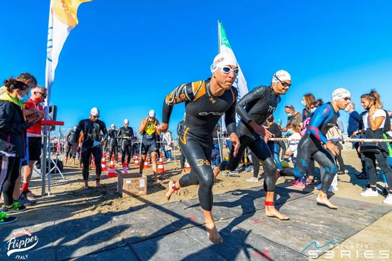 Si presentano i Campionati Italiani di triathlon sprint a Cervia