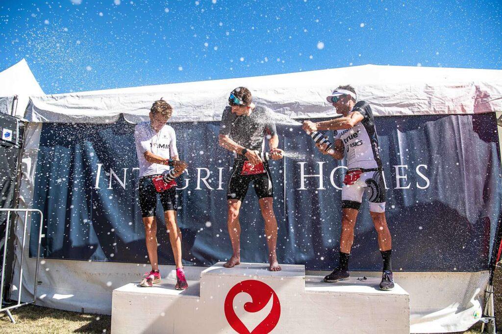 Il podio maschile del Challenge Wanaka 2021
