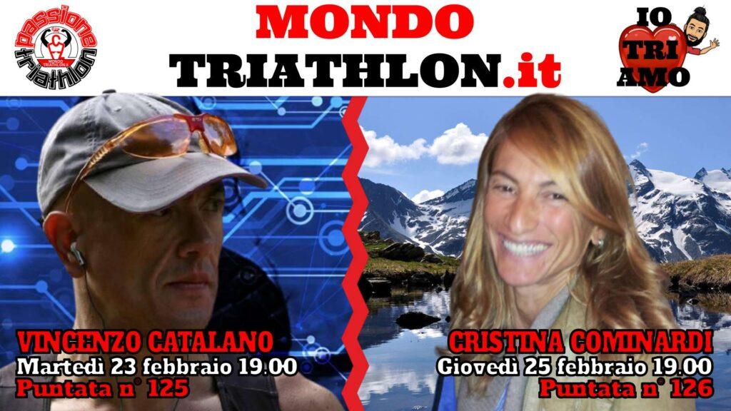 Copertina Passione Triathlon 23 e 25 febbraio 2021 - Vincenzo Catalano e Cristina Cominardi