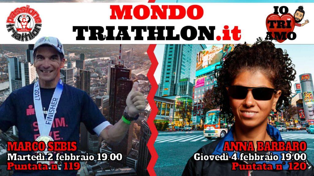Copertina Passione Triathlon 2 e 4 febbraio 2021 - Marco Sebis e Anna Barbaro