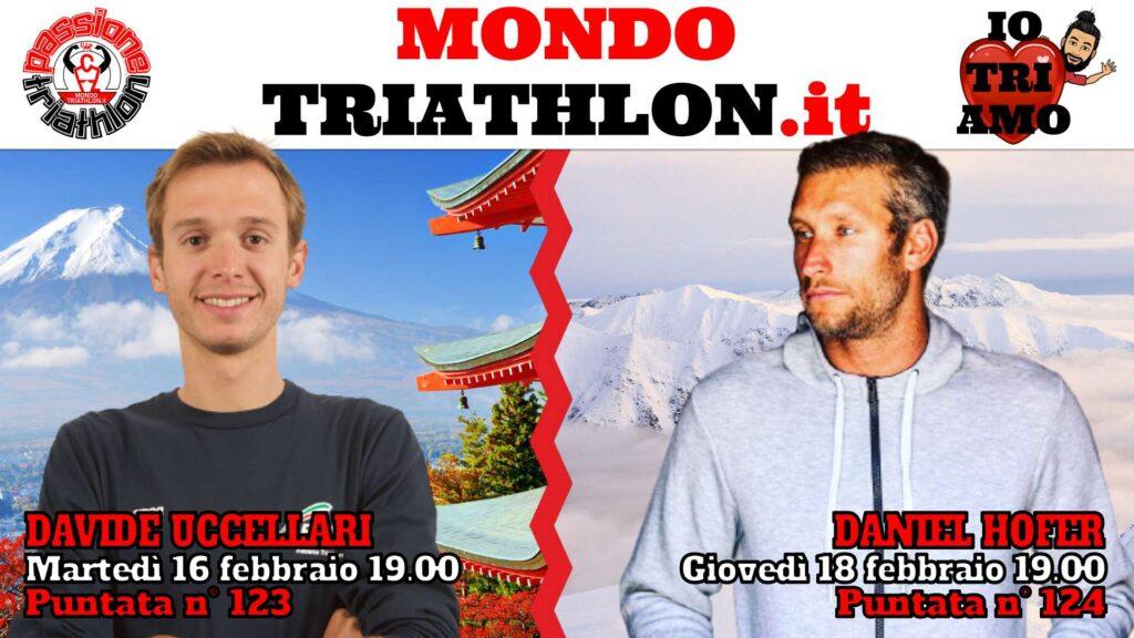 Copertina Passione Triathlon 16 e 18 febbraio 2021 - Davide Uccellari e Daniel Hofer