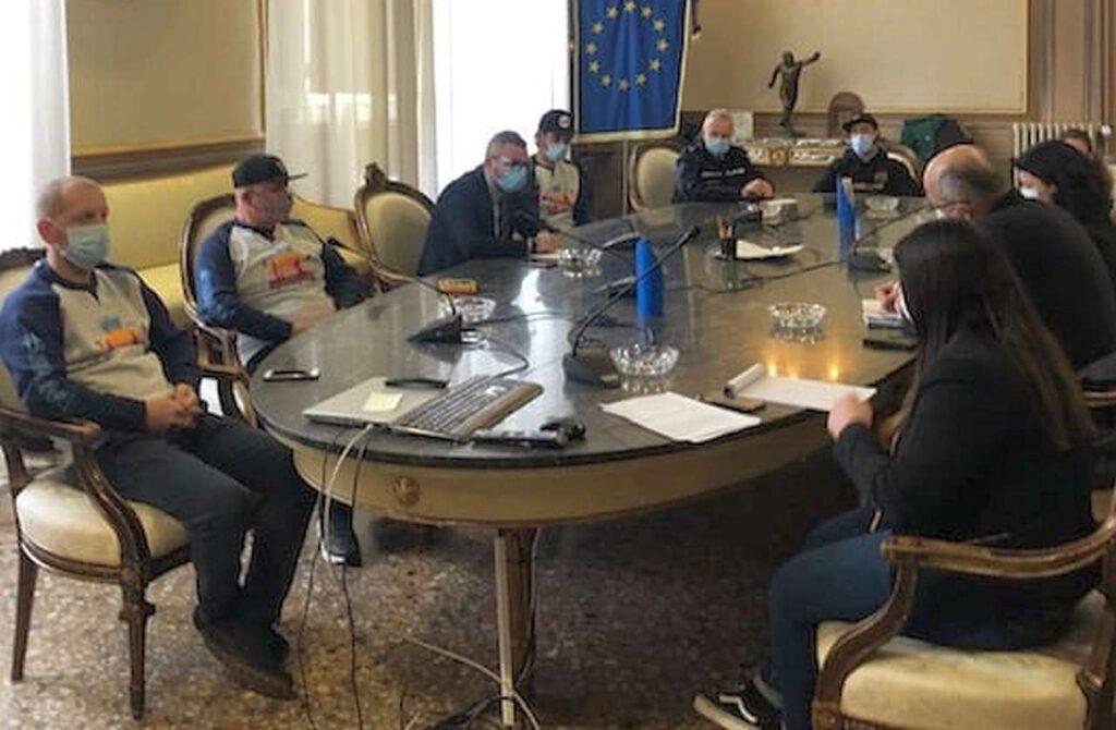 La presentazione del 1° Duathlon Città di Forlì, in programma il 2 maggio 2021