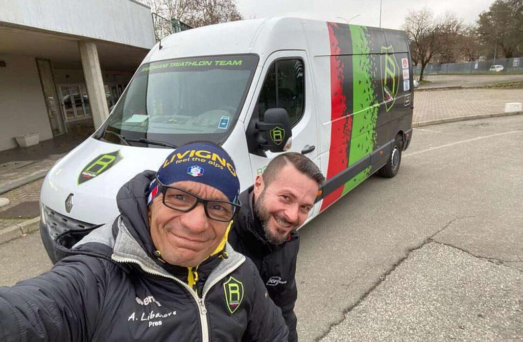 Duathlon di Pavia 2021, Raschiani Triathlon Pavese al lavoro