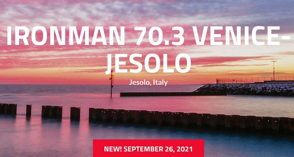 La prima edizione dell'Ironman 70.3 Jesolo si sposta dal 2 maggio al 26 settembre 2021