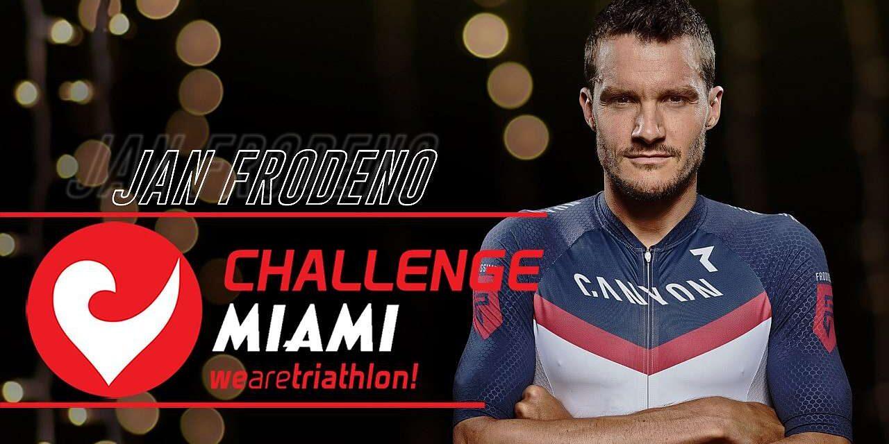 Anche Jan Frodeno al via del Challenge Miami!