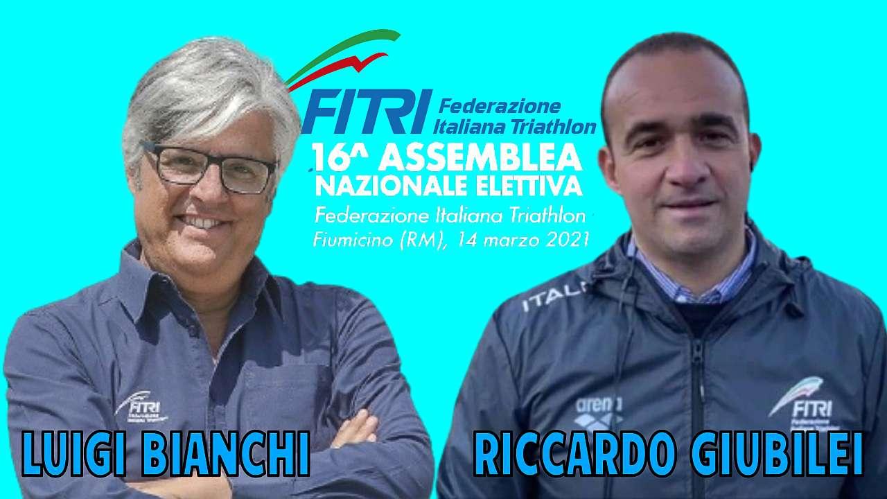 Candidature FITri: la sfida per diventare Presidente è tra Luigi Bianchi e Riccardo Giubilei