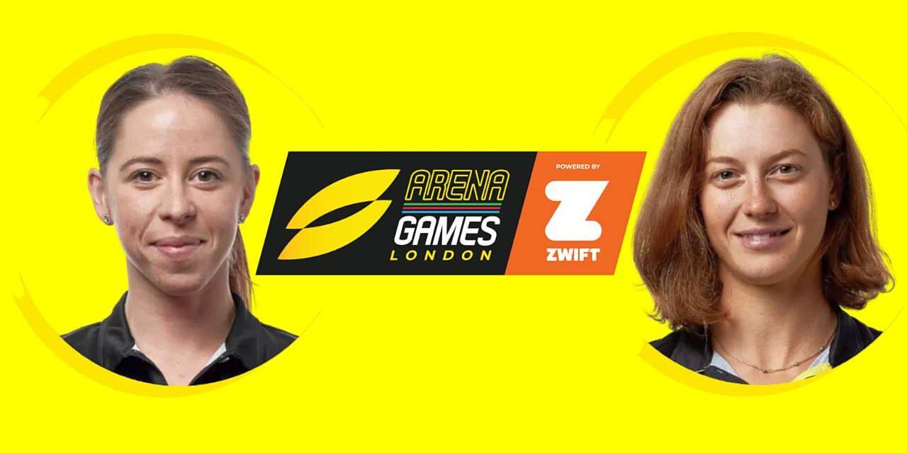 Anche Ilaria Zane e Alice Betto al via della Super Leage Triathlon Arena Games London!