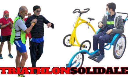 """La maratona dell'Ironman Italy in modalità """"Triathlon Solidale"""", in diretta dalle 16.15"""