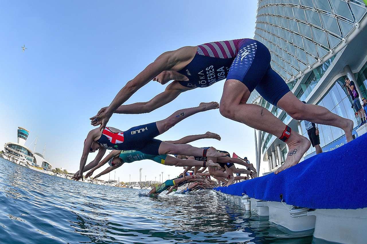 L'1 e 2 maggio 2021 inizia la World Triathlon Championship Series con la tappa di Chengdu