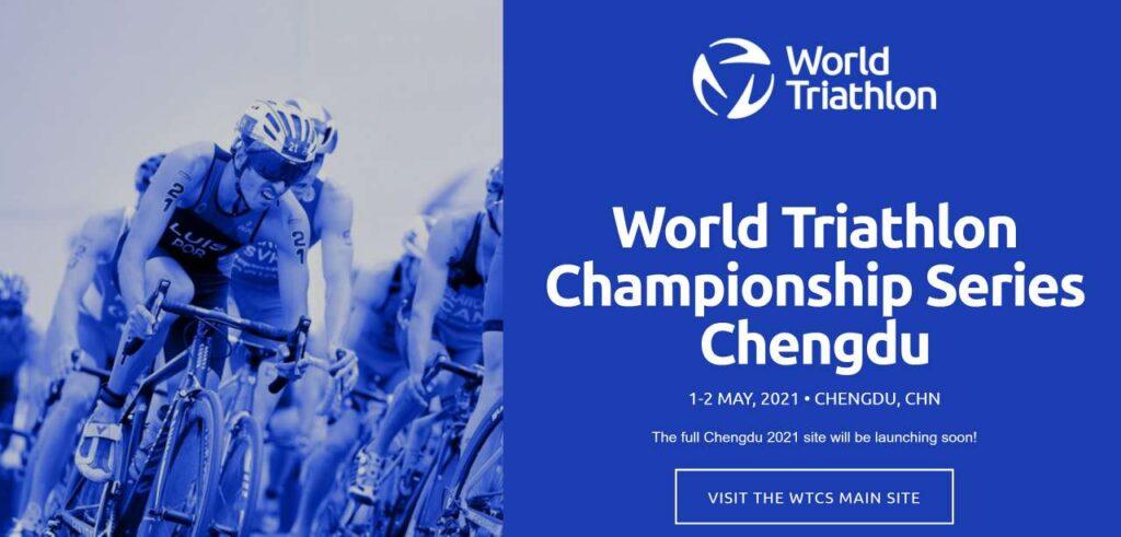World Triathlon Championship Series Chengdu 2021