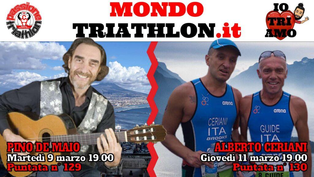 Copertina Passione Triathlon 9 e 11 marzo 2021 - Pino De Maio e Alberto Ceriani