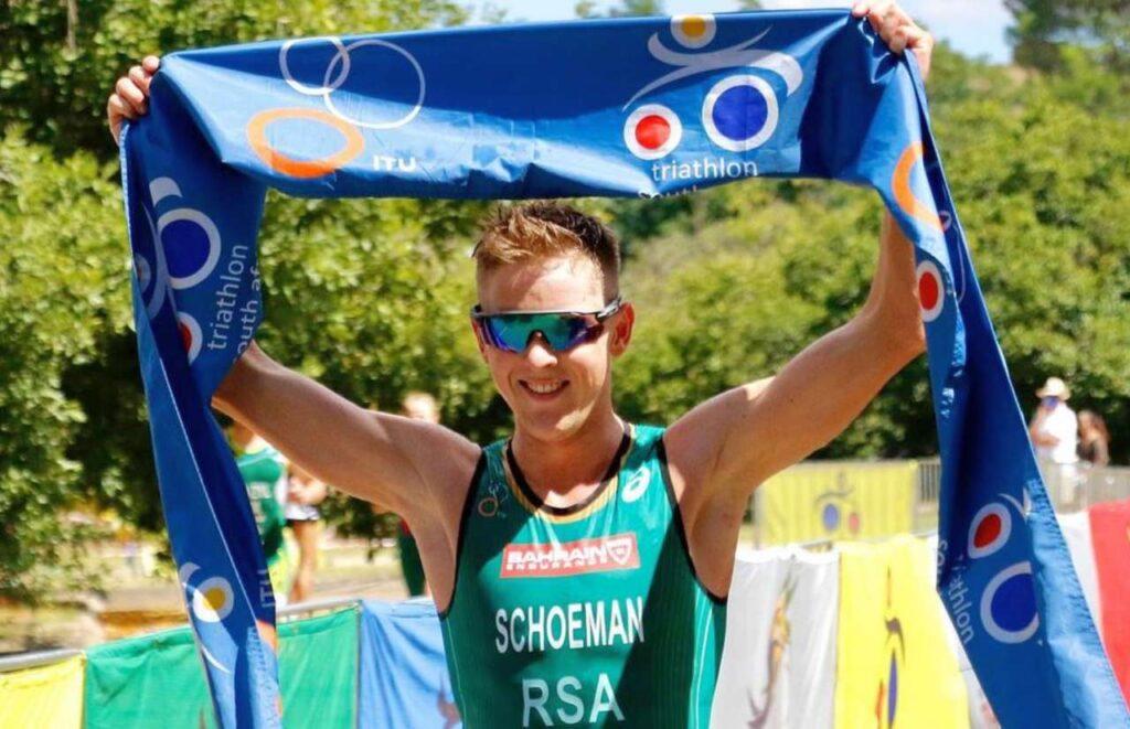 Henri Schoeman trionfa ai Campionati Sudafricani 2021 di triathlon olimpico no draft