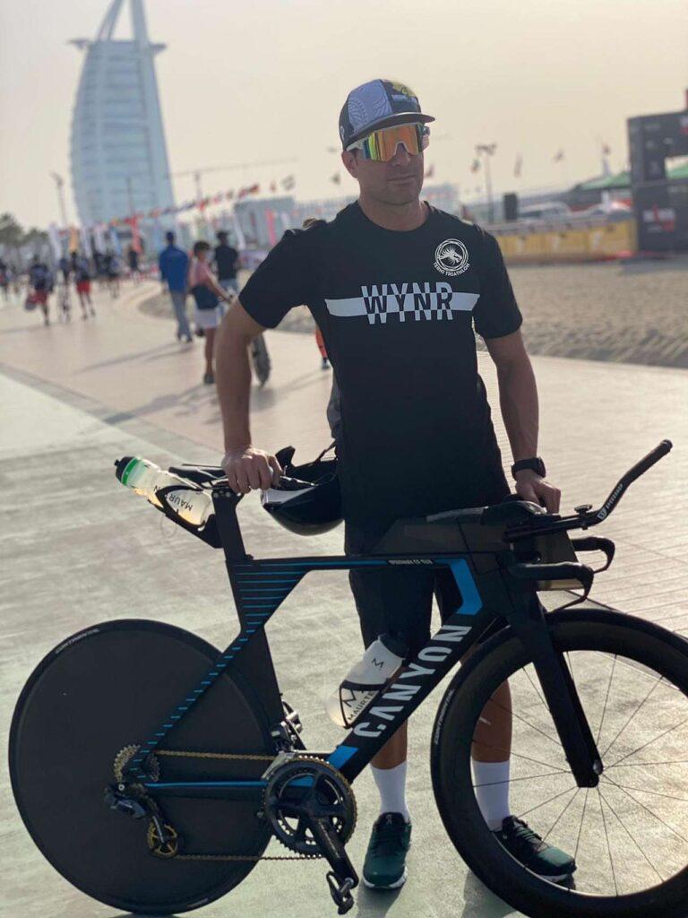 Lorenzo Felici secondo di categoria M30 all'Ironman 70.3 Dubai 2021