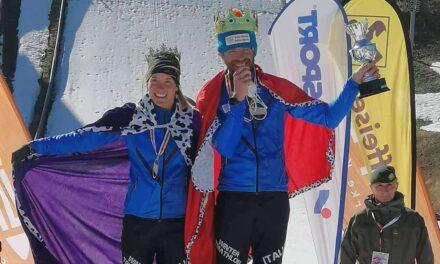 Sandra Mairhofer e Giuseppe Lamastra dominano il Kärnten Iceman Wintertriathlon