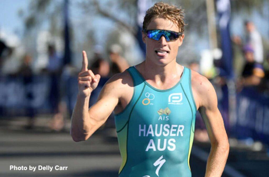 Matt Hauser vince, dopo il titolo sprint, anche il Campionato di triathlon olimpico Australiano 2021 a Mooloolaba