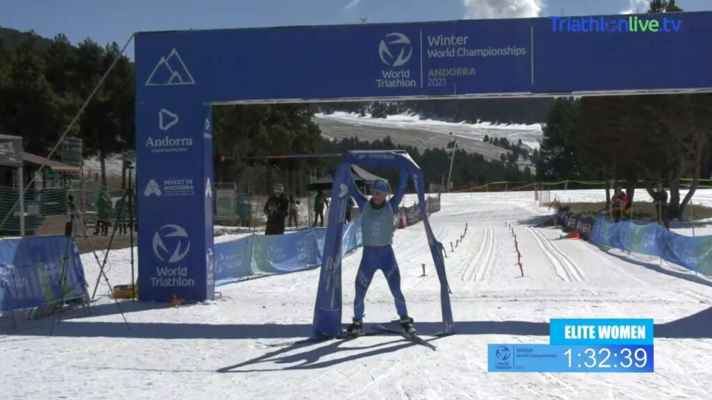 L'azzurra Sandra Mairhofer trionfa ai Mondiali di Winter Triathlon 2021 di Andorra!