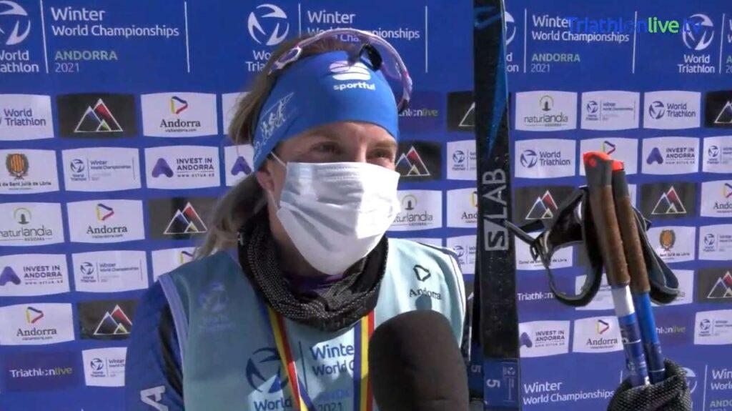 L'intevista alla neo campionessa del mondo di winter triathlon 2021 Sandra Mairhofer