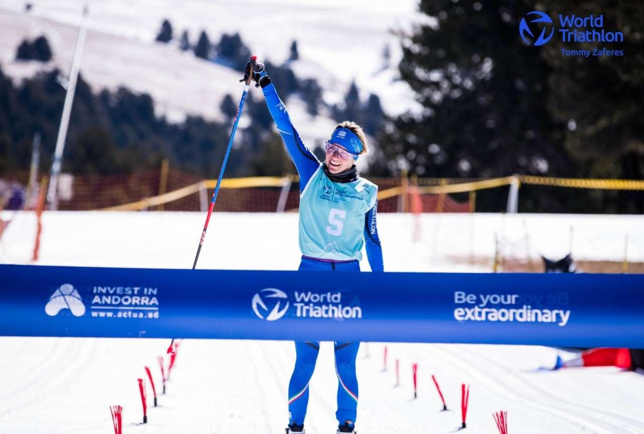 Sandra Mairhofer campionessa del mondo di winter triathlon!