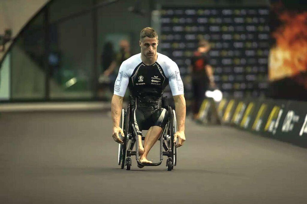 L'olandese Jetze Plat, campione olimpico di Paratriathlon, è stato uno dei grandi protagonisti dell'SLT Arena Games Para London 2021