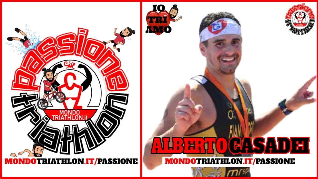 Alberto Casadei Passione Triathlon n° 142