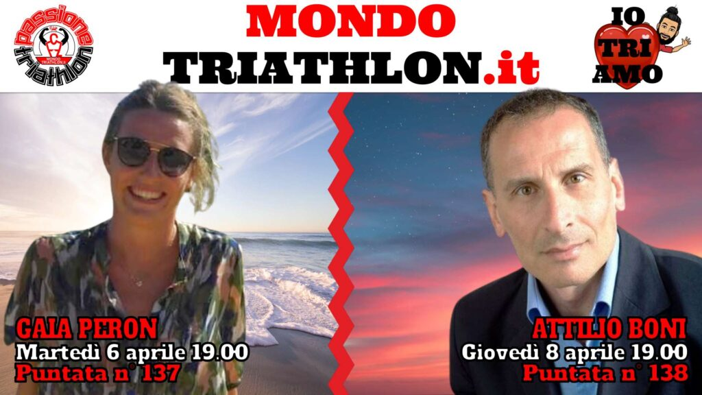 Copertina Passione Triathlon 6 e 8 aprile 2021 - Gaia Peron e Attilio Boni