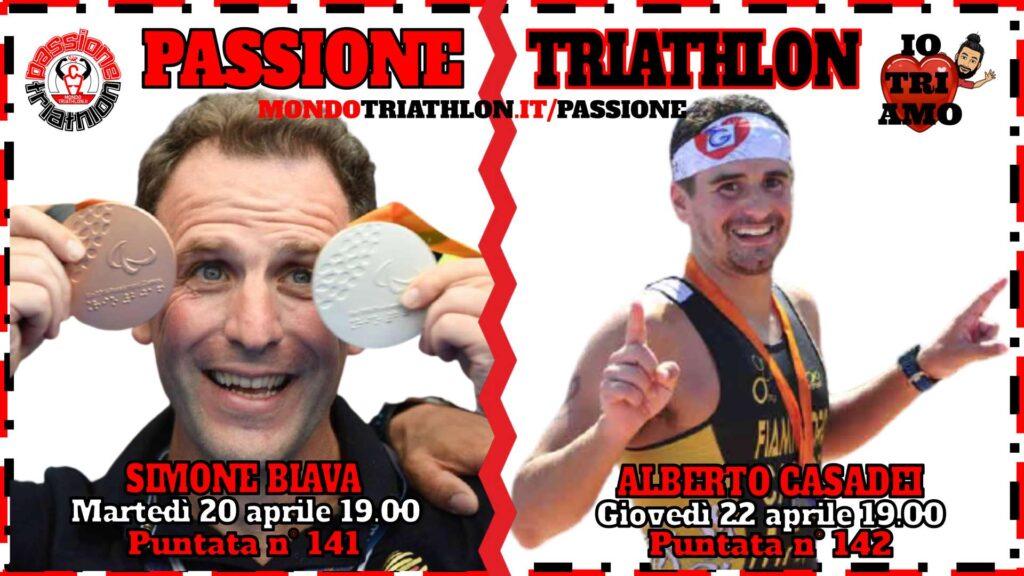 Copertina Passione Triathlon 20 e 22 aprile 2021 - Simone Biava e Alberto Casadei