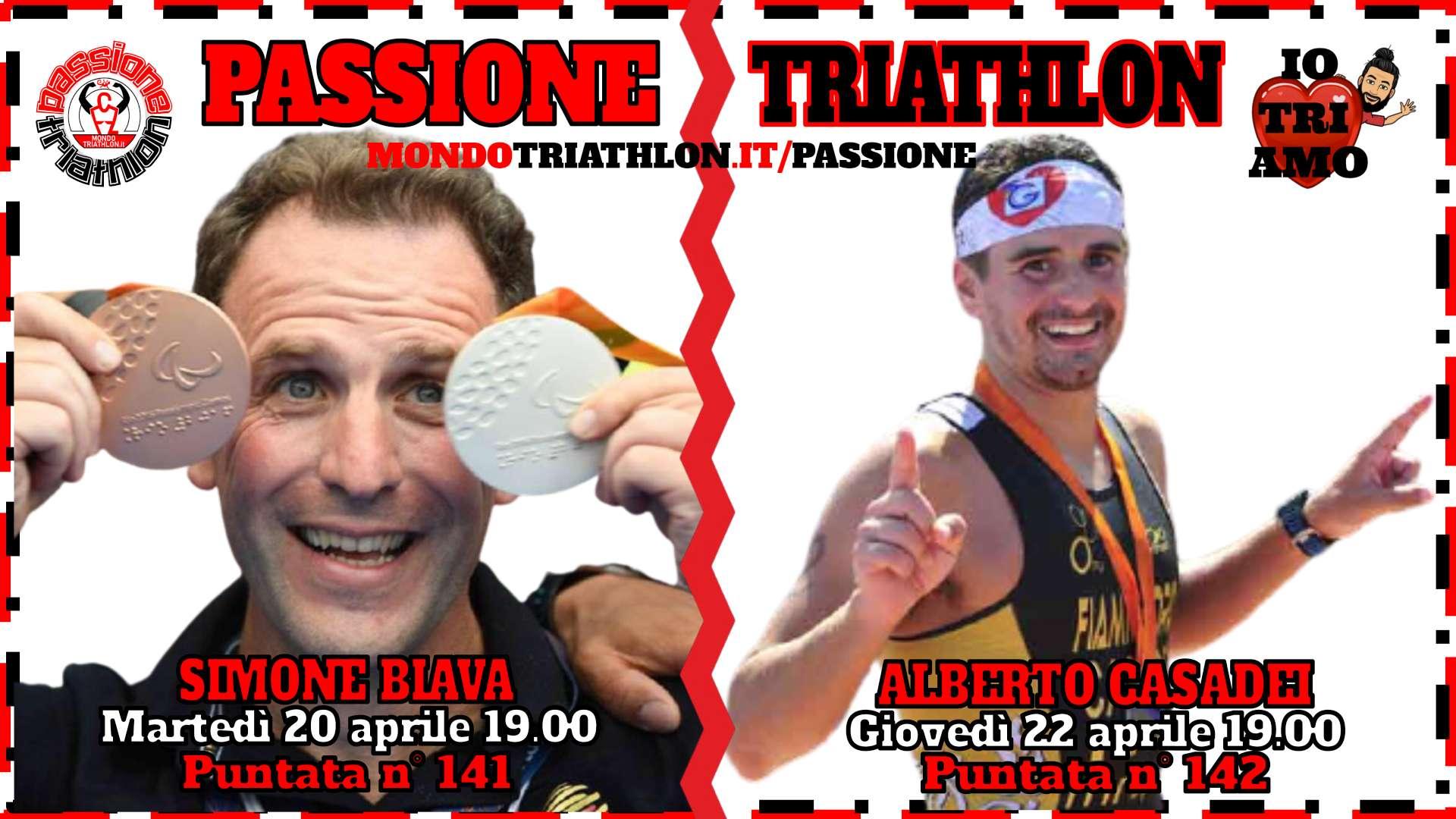 Passione Triathlon Protagonisti 20 e 22 aprile 2021