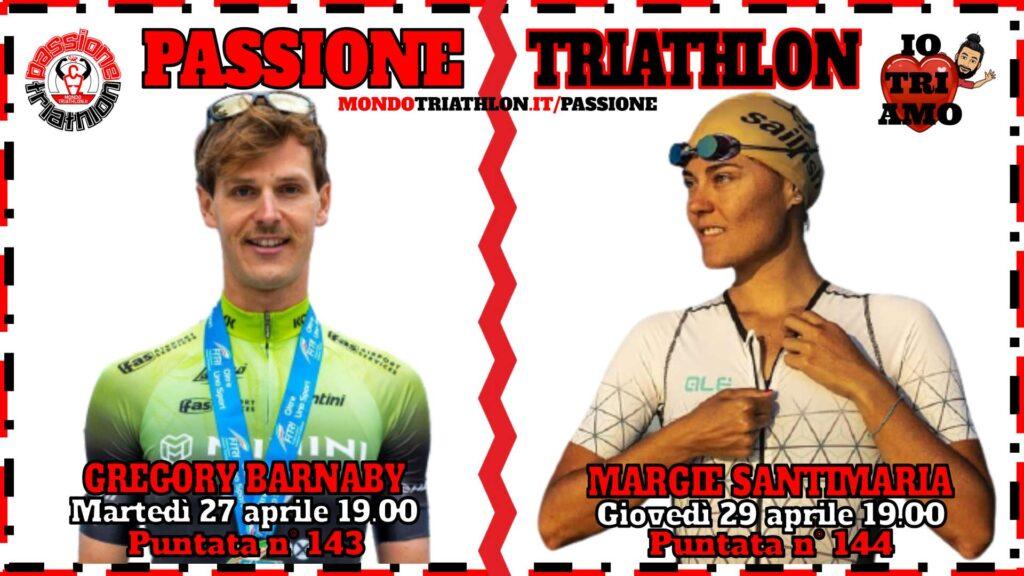 Copertina Passione Triathlon 27 e 29 aprile 2021 - Gregory Barnaby e Margie Santimaria