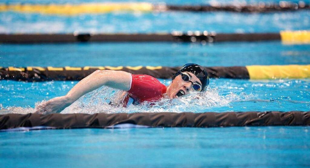 Lucy Charles impegnata nella SLT Arena Games London 2021
